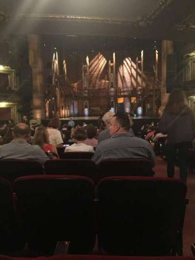 PrivateBank Theatre, section: Orchestra C, row: W, seat: 118