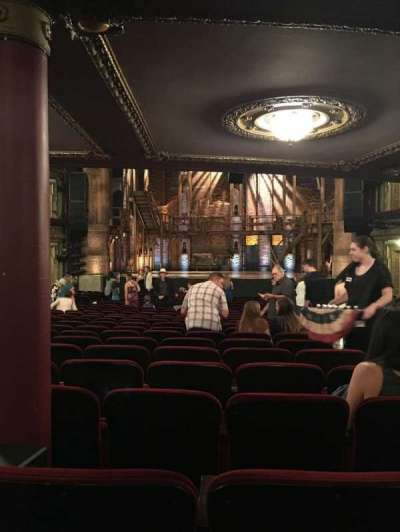 PrivateBank Theatre, section: ORCHESTRA C, row: Y, seat: 117