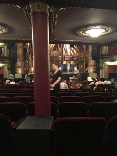 PrivateBank Theatre, section: ORCHESTRA C, row: Y, seat: 116
