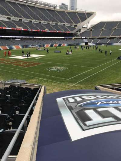 Soldier Field, section: 119, row: 11