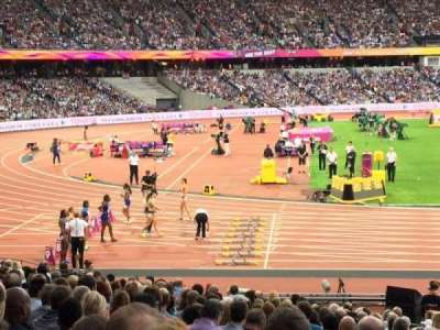 London Stadium, section: 103, row: 21, seat: 422