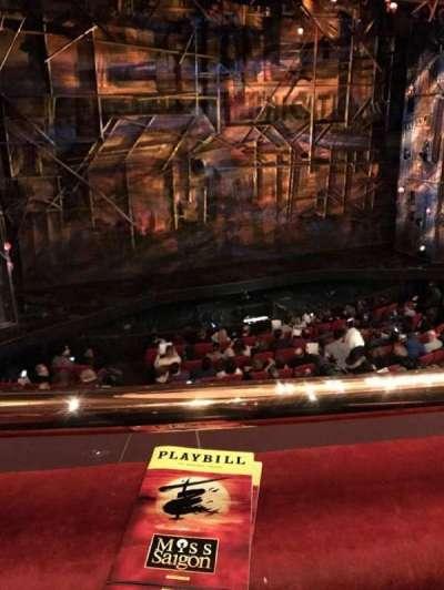 Broadway Theatre - 53rd Street, section: Mezzanine, row: A, seat: 102