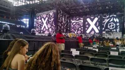 Ford Field, section: D, row: 29, seat: 5