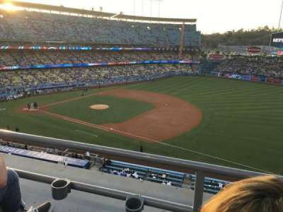 Dodger Stadium, section: 28RS, row: B, seat: 20