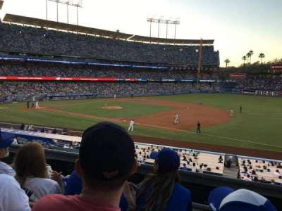 Dodger Stadium, section: 144LG, row: C, seat: 5