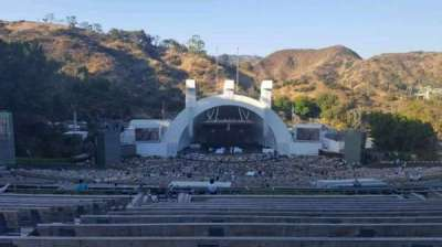 Hollywood Bowl, section: N-1, row: 16, seat: 8