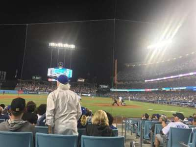Dodger Stadium, section: 9fd, row: A, seat: 3