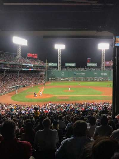 Fenway Park section Grandstand 17