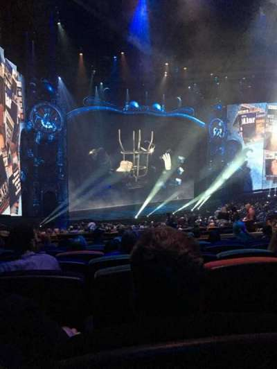 Michael Jackson One Theatre, section: 201, row: Jj, seat: 5