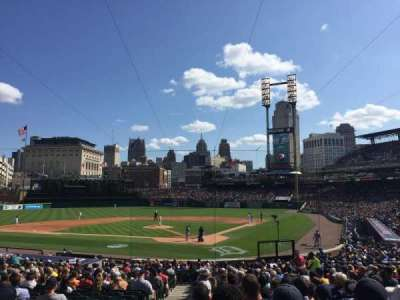 Comerica Park, section: 129, row: 32, seat: 15
