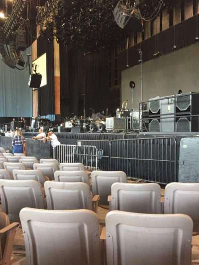 Xfinity Theatre, section: 100, row: I, seat: 117