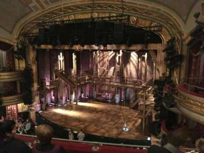 Richard Rodgers Theatre, section: FMezz, row: D, seat: 20