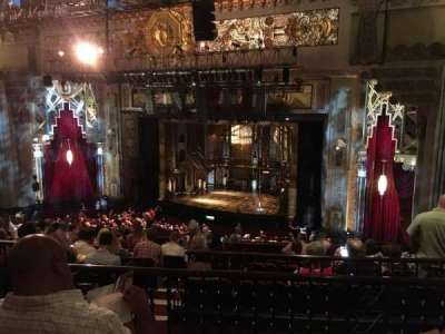 Pantages Theatre (Hollywood), section: MEZZR, row: L, seat: 14