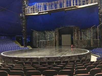 Cirque Du Soleil - Volta, section: 102, row: E