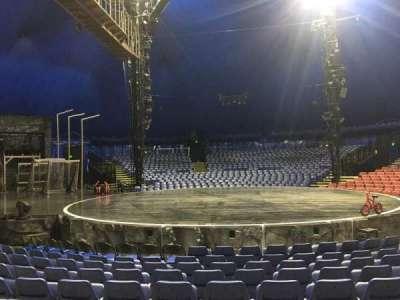 Cirque Du Soleil - Volta, section: 103, row: E