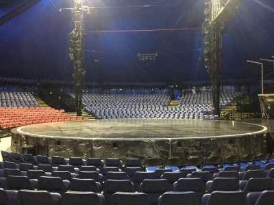 Cirque Du Soleil - Volta, section: 104, row: E