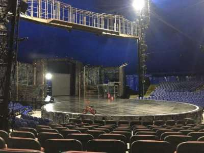 Cirque Du Soleil - Volta, section: 201, row: H