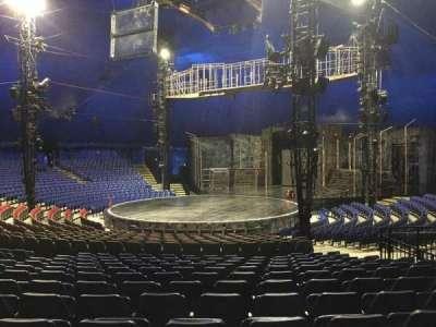 Cirque Du Soleil - Volta, section: 202, row: Q