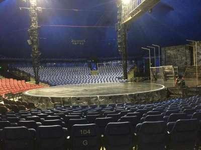 Cirque Du Soleil - Volta, section: 204, row: H