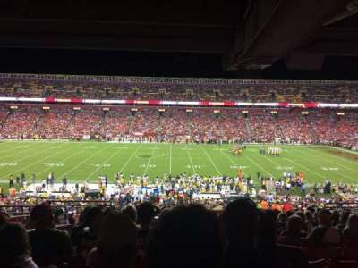 FedEx Field, section: 221, row: 13, seat: 16