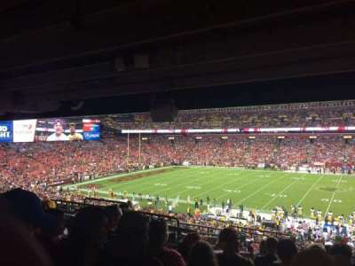 FedEx Field section 221