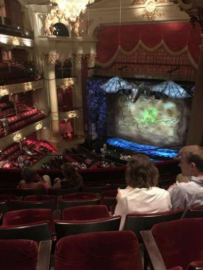Academy of Music, section: D, row: F, seat: 12