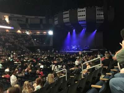 Infinite Energy Arena, section: 104, row: H, seat: 10