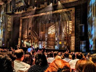 Pantages Theatre (Hollywood), section: Orchestra RC, row: P, seat: 210