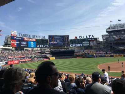 Yankee Stadium, section: 126, row: 16, seat: 3