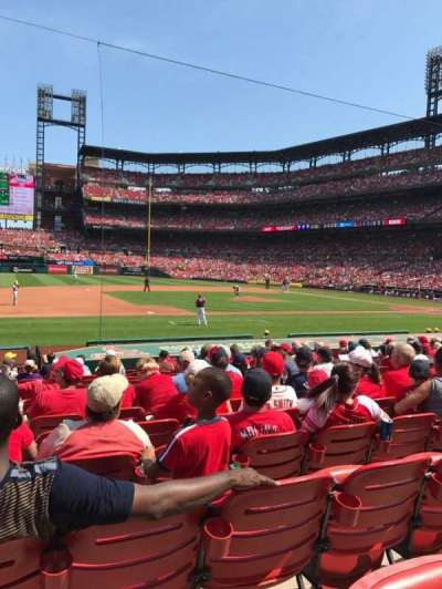 Busch Stadium, section: 158, row: 6, seat: 9