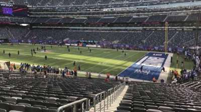 MetLife Stadium, section: 108, row: 33, seat: 29