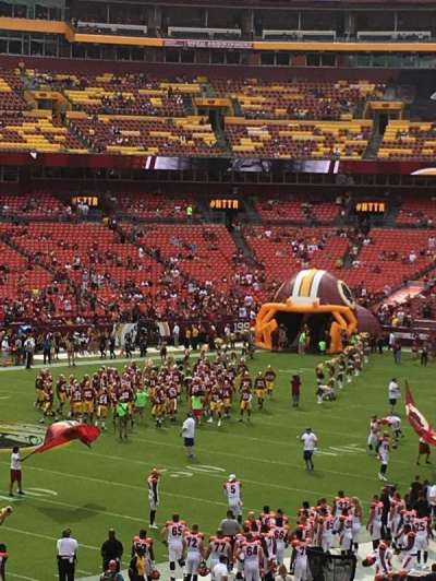 FedEx Field section 226