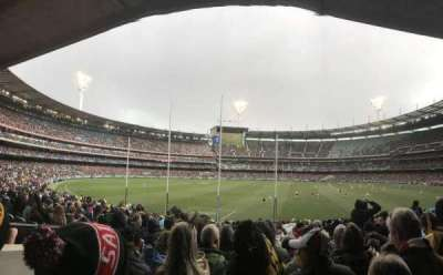 Melbourne Cricket Ground, section: M2, row: CC, seat: 14