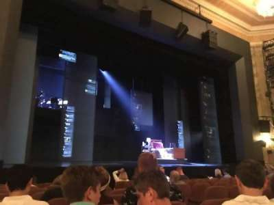 Music Box Theatre, section: ORCH, row: K, seat: 9