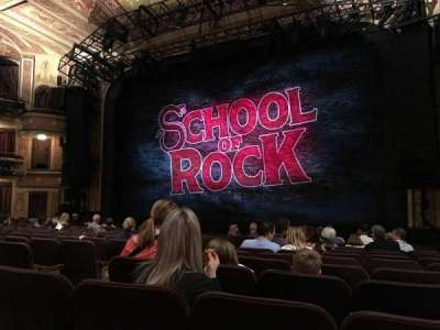 Winter Garden Theatre, section: ORCH, row: O, seat: 8