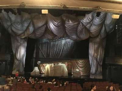 Majestic Theatre, section: ORCH, row: O, seat: 113