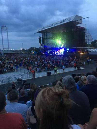 Hershey Park Stadium, section: 26, row: B, seat: 13