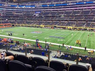 AT&T Stadium, section: C207, row: 4, seat: 3