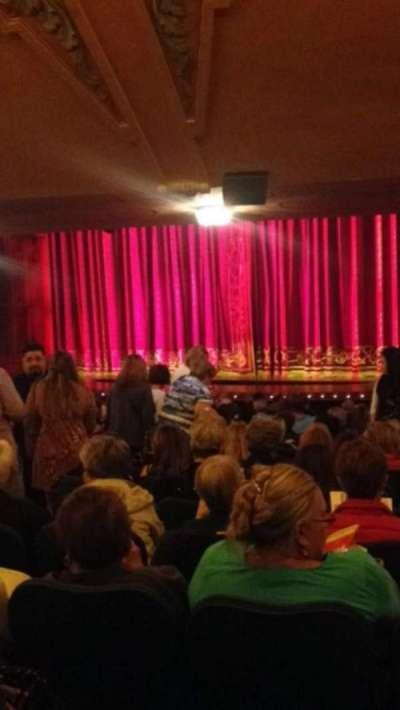Shubert Theatre, section: SR, seat: 12