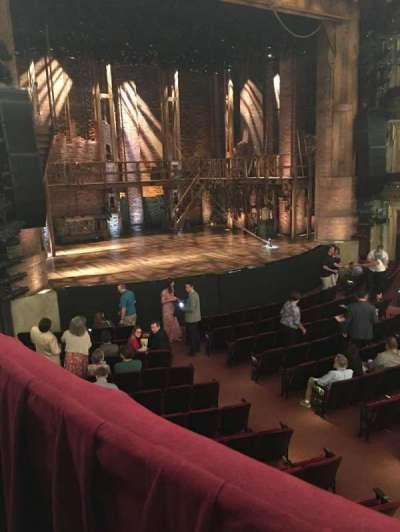 CIBC Theatre, section: Dress Circle L, row: A, seat: 9