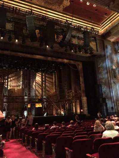 Pantages Theatre (Hollywood), section: Orchestra LC, row: P, seat: 301