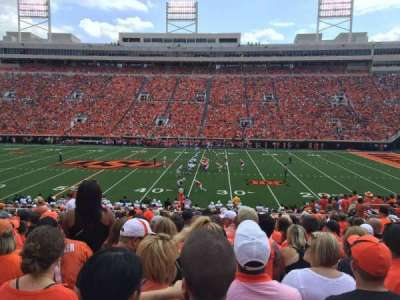 Boone Pickens Stadium, section: 224, row: 19