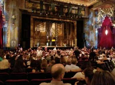 Pantages Theatre (Hollywood), section: Orchestra LC, row: NN, seat: 310