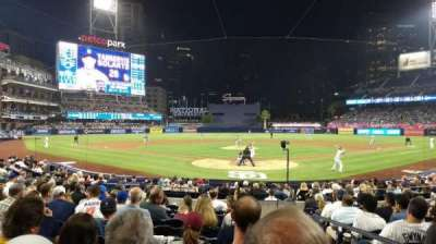 Petco Park, section: Field VIP 102, row: 18, seat: 2