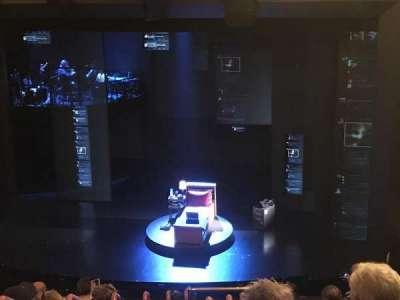 Music Box Theatre, section: Mezzanine Right, row: K, seat: 4