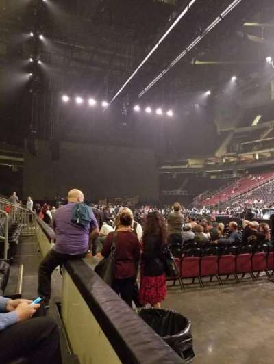 Prudential Center, section: 21, row: 1, seat: 2
