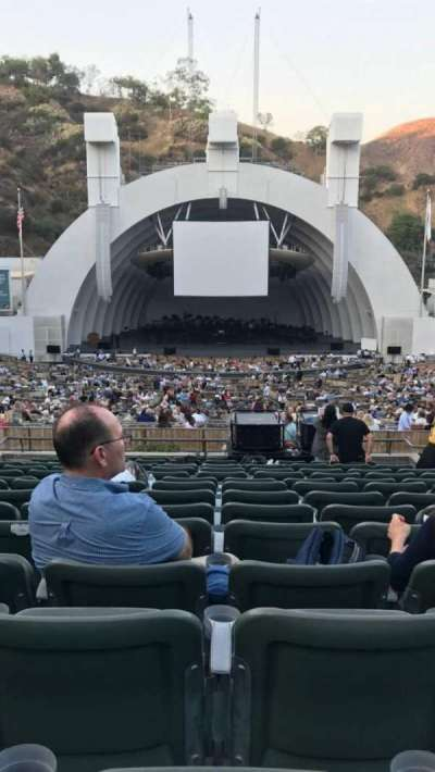 Hollywood Bowl, section: Super Seats, row: 15, seat: 108