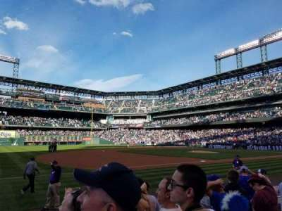 Coors Field, section: 143, row: 7, seat: 1
