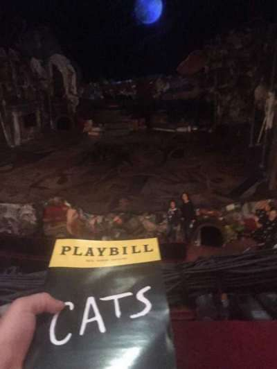 Neil Simon Theatre, section: FMEZZ, row: A, seat: 120
