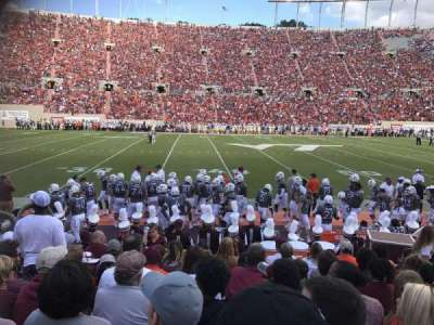 Lane Stadium, section: 10, row: J, seat: 21